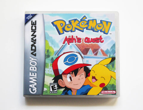 Pokemon Ash's Quest for Game Boy Advance GBA