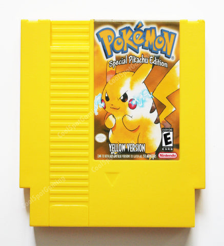 Pokemon Yellow NES 'Demake' English Language - Region-Free
