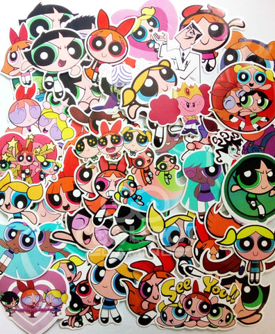 Powerpuff Girls 50 Piece Sticker Set