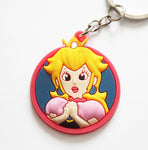 Super Mario Keyring - Princess Peach