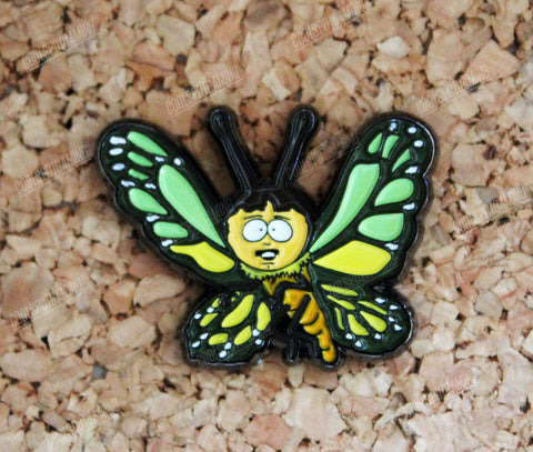 Randy Marsh Butterfly - South Park Pin Badge