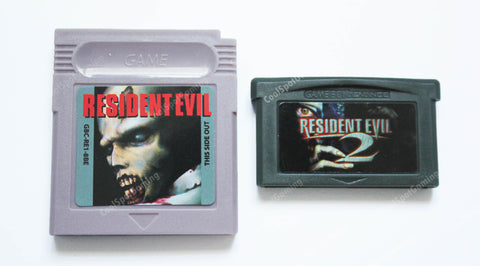 Double Pack! - Resident Evil Prototype (GBC) & Resident Evil 2 Unreleased Tech Demo (GBA)