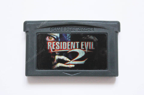 Resident Evil 2 Unreleased Tech Demo for Game Boy Advance