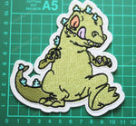 Rugrats Reptar Large Embroidered Patch