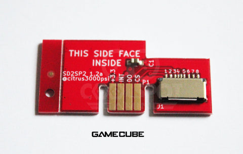SD2SP2 Gamecube SD card Adapter for Serial Port 2