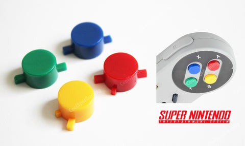 Super Nintendo Control Pad Replacement Buttons