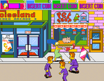 The Simpsons Arcade Game (MAME) - Dreamcast