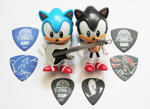 Sonic the Hedgehog Limited Edition ESP 25th Anniversary Guitar Picks