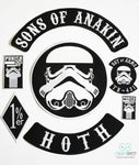 Sons of Anakin Full Size Complete Patch Set