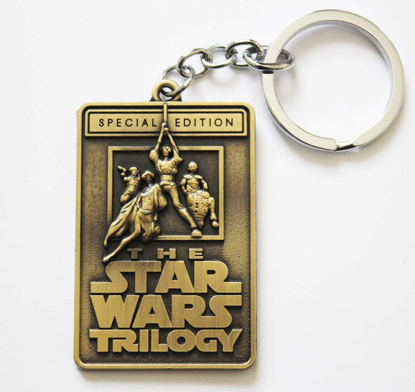Star Wars Trilogy Special Edition Metal Keychain