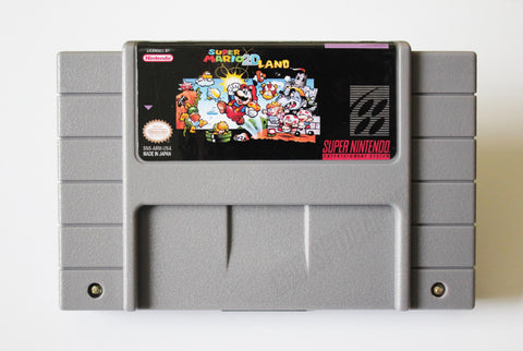 Super Mario 2D Land - USA/NTSC - SNES