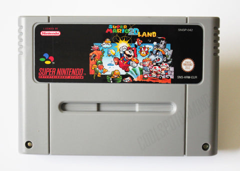Super Mario 2D Land - EUR/PAL - SNES