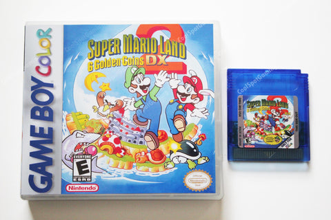 Super Mario Land 2 DX v1.8 Full Colour - Game Boy Colour