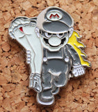Heroic Super Mario & Princess Peach - Pin Badge