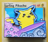 Surfing Pikachu Exclusive Pin Badge