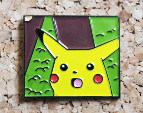 Surprised Pikachu Meme Pin