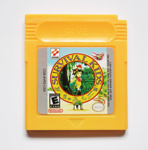 Survival Kids - Game Boy Colour (Reproduction)