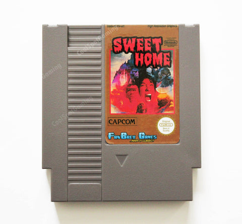 Sweet Home - English Translation - NES