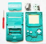 Game Boy Colour Replacement Housing Shell Kit - Teal/Turquoise/Aqua/Blue