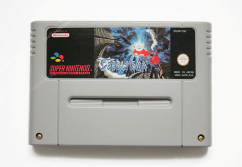 Terranigma SNES - EUR/PAL - English Language