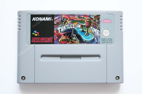 Teenage Mutant Ninja Turtles IV: Turtles in Time SNES - EUR/PAL