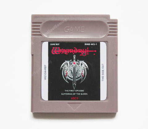 Wizardry Gaiden: Suffering of the Queen - English Translation - Game Boy
