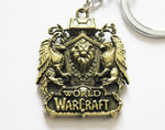 World of Warcraft Alliance Crest Keychain