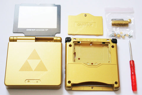 Game Boy Advance SP (GBA SP) Replacement Housing Shell Kit - The Legend of Zelda
