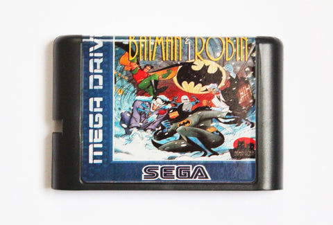 Adventures of Batman and Robin (Reproduction) - Mega Drive/Genesis Game