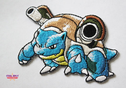 Blastoise Pokemon Embroidery Patch (7.5cm x 7.5cm)-Embroidery Patch-Cool Spot's Gaming Emporium-Cool Spot Gaming