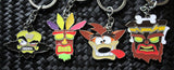 Crash Bandicoot Official Keychain - Aku Aku