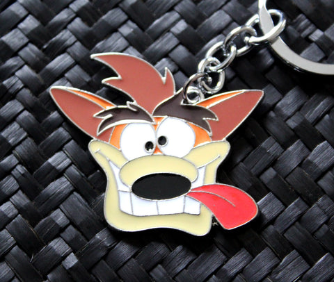 Crash Bandicoot Official Keychain - Crash Bandicoot
