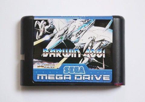 Darwin 4081 (English Version) - Mega Drive/Genesis Game