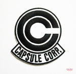Dragon Ball Z Capsule Corp Embroidered Patch-Embroidery Patch-Cool Spot's Gaming Emporium-Cool Spot Gaming