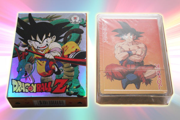 Dragon Ball Z Poker Cards - Full Set of 52 Dragon Ball Z Themed Playing Cards