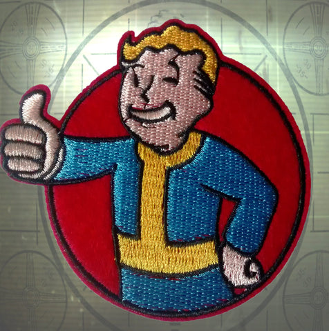 Fallout Vault Boy Embroidery Patch-Cool Spot's Gaming Emporium-Cool Spot Gaming