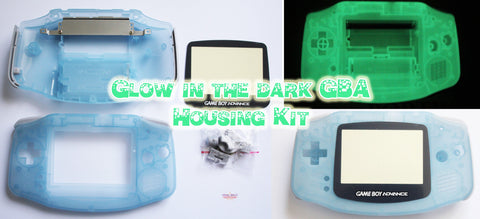 Game Boy Advance Glow in the Dark Luminous Housing Kit