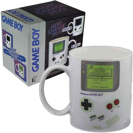 Game Boy Heat Changing Mug - Super Mario Land Design