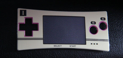 Gameboy Micro Faceplate - Famicom Custom Inspired Theme