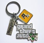 Grand Theft Auto 5 Pendant Keychain
