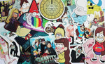 Gravity Falls 25 Piece PVC Sticker Set