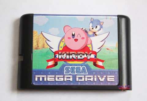 Kirby in Sonic the Hedgehog - Mega Drive/Genesis Game