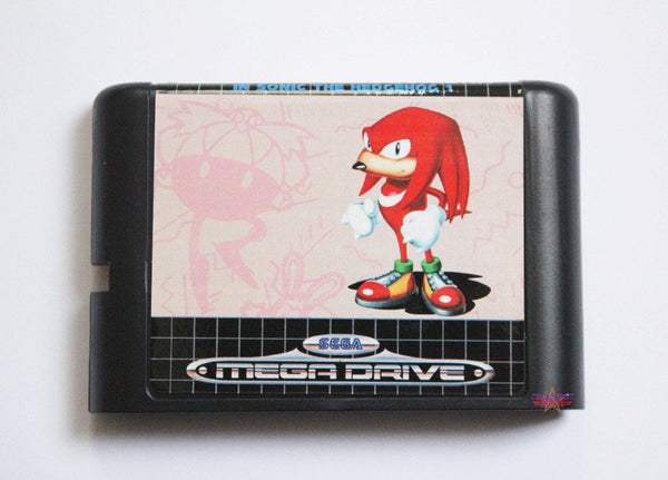 Knuckles the Echidna in Sonic the Hedgehog - Mega Drive/Genesis Game