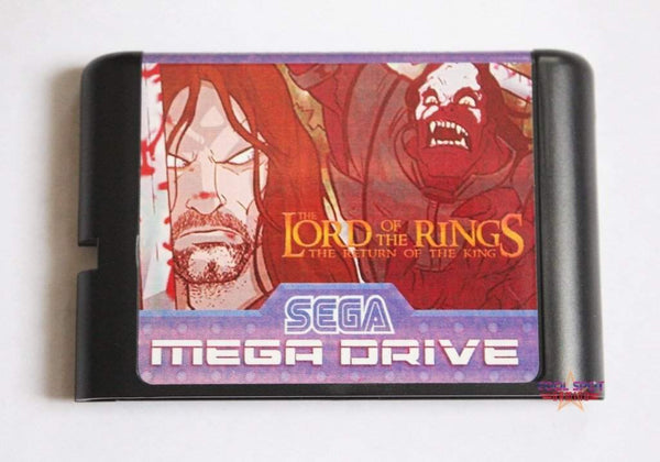 Lord of the Rings - Mega Drive/Genesis Game