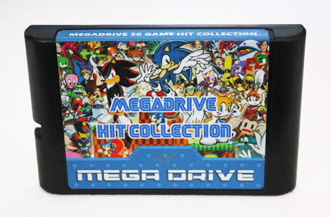 Mega Drive/Genesis 30 Game Hit Collection Multi Cartridge