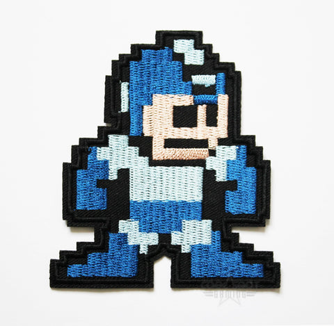 Mega Man Embroidery Patch (9cm x 8cm)-Embroidery Patch-Cool Spot's Gaming Emporium-Cool Spot Gaming