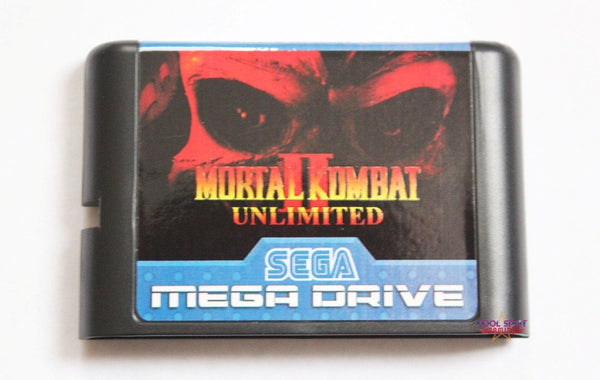 Mortal Kombat II Unlimited - Mega Drive/Genesis Game