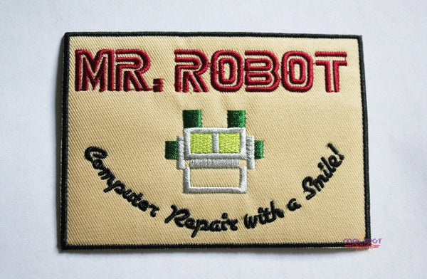 Mr. Robot Embroidered Patch-Embroidery Patch-Cool Spot's Gaming Emporium-Cool Spot Gaming