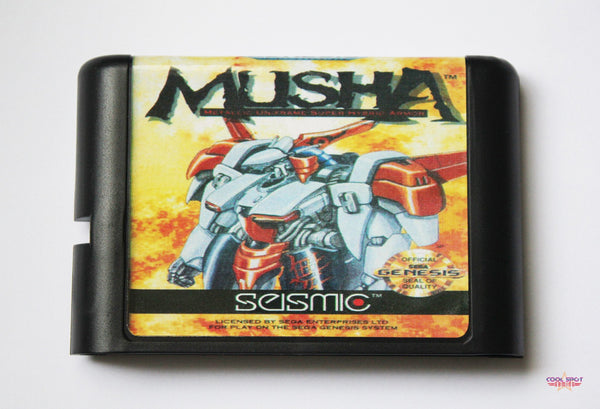 MUSHA - Mega Drive/Genesis Game (Reproduction)