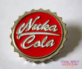 Nuka Cola Bottle Cap Pin Badge-Cool Spot's Gaming Emporium-Cool Spot Gaming